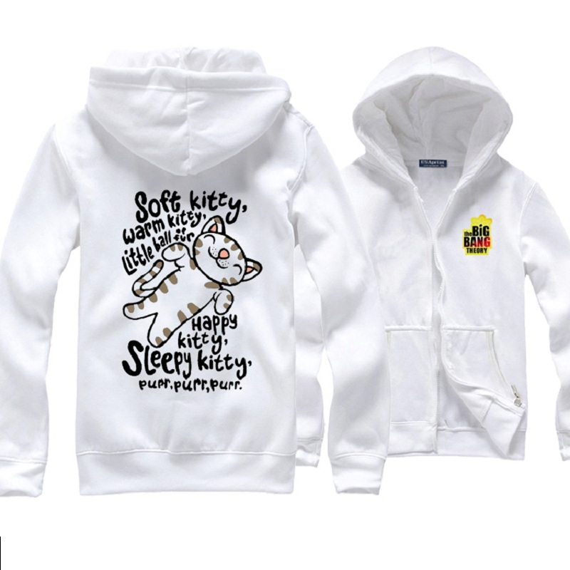 The Big Bang Theory Fans Who Wear Sheldon Cooper Soft Kitty Hoodies Women Science Geek Cat hoodie Gift