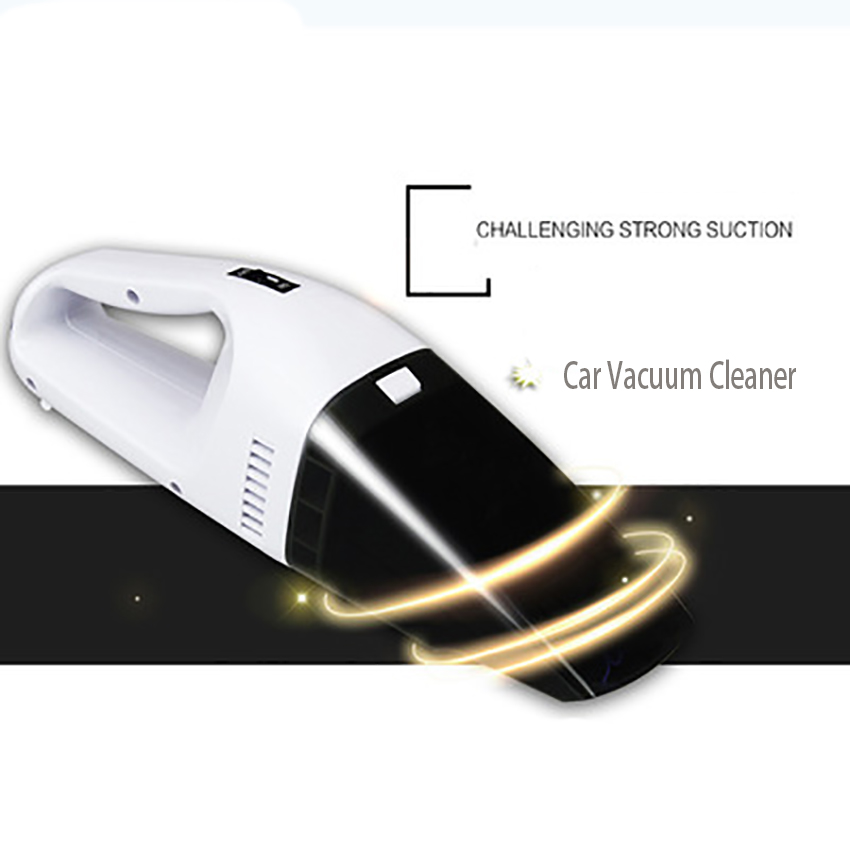 цена Portable Handheld Mini Car Vacuum Cleaner Car Cleaner Handheld Portable 12V Powerful Auto Cleaning Tools Wet and Dry Dual Use