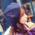 Новая зимняя женская мода тыква берет Восьмиугольная кепка Дикие случайные художник крышка