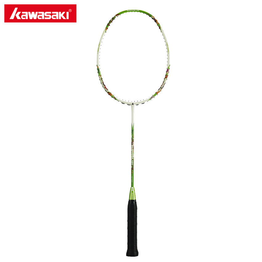 Kawasaki Brand Badminton Rackets For Kids Children 5U Junior Badminton Racquet For 8~13 Year-old Child Happy Kids 650