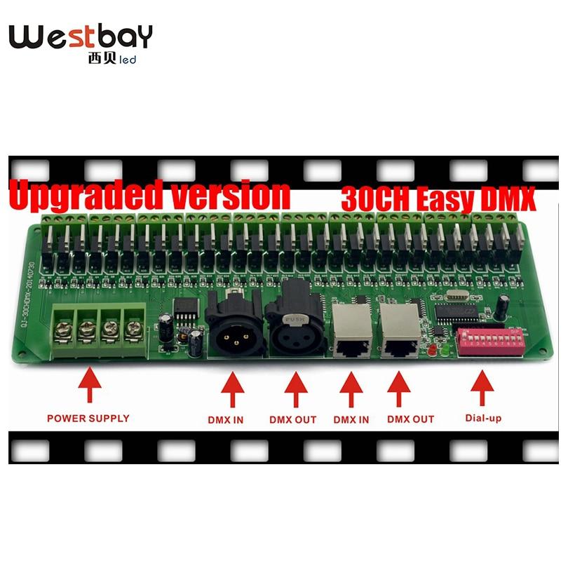 Pulsuz çatdırılma Easy DMX 30CH LED RGB Controller, dekoder və - İşıqlandırma aksesuarları - Fotoqrafiya 2