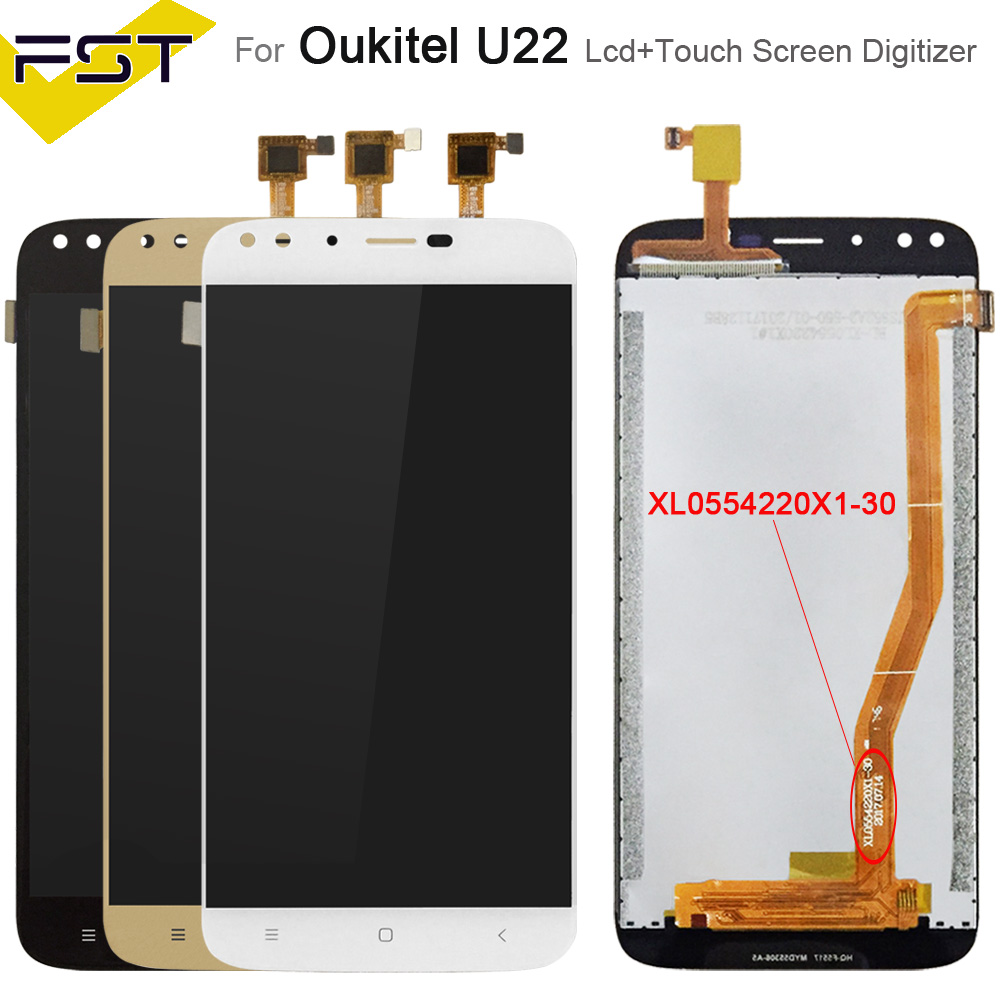 5.5For Oukitel U22 LCD Display With Touch Screen Digitizer Assembly For Oukitel U22 Lcd Screen With Tools +Adhesive5.5For Oukitel U22 LCD Display With Touch Screen Digitizer Assembly For Oukitel U22 Lcd Screen With Tools +Adhesive