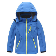Kids Winter Waterproof Outdoor Jackets Trekking Girl Hiking Child Camping Boy Active Sport Softshell Skiing Windproof Coat J22