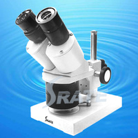 30X 60x Industrial Binocular Stereo Microscope with Light for Clock watch cellphone Repair tool TX 3A
