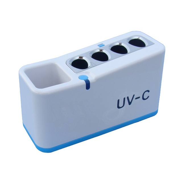 Fashion household UV toothbrush sanitizer/sterilizers/disinfector toothbrush holder
