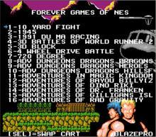 Игра FOREVER DUO GAMES OF NES 852 в 1 (405 + 447) картридж для консоли NES, всего 852 игр 1024 Мбит флэш-чип в использовании