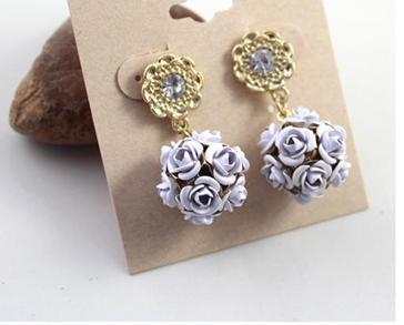 New Women Party Earrings Collection 2013 Fashion