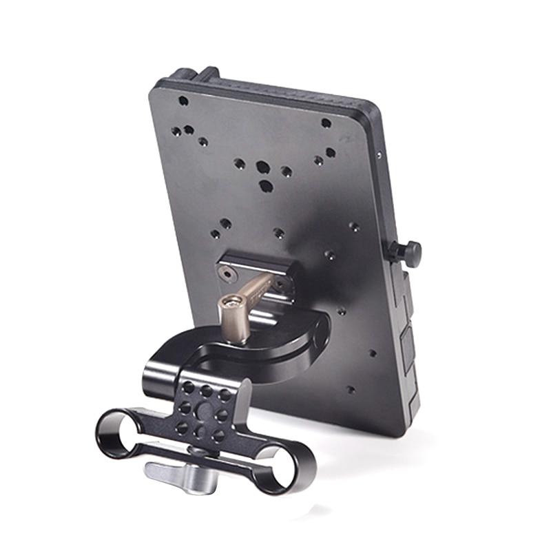 Image 3 - TILTA BT 003 V V Piastra di montaggio Della Batteria Sistema di Alimentazione con Adattatore per Asta di 15 millimetri per la Macchina Fotografica DSLR 5D2 5D3 5D4 6D 70D 60DAccessori per studio fotografico   -