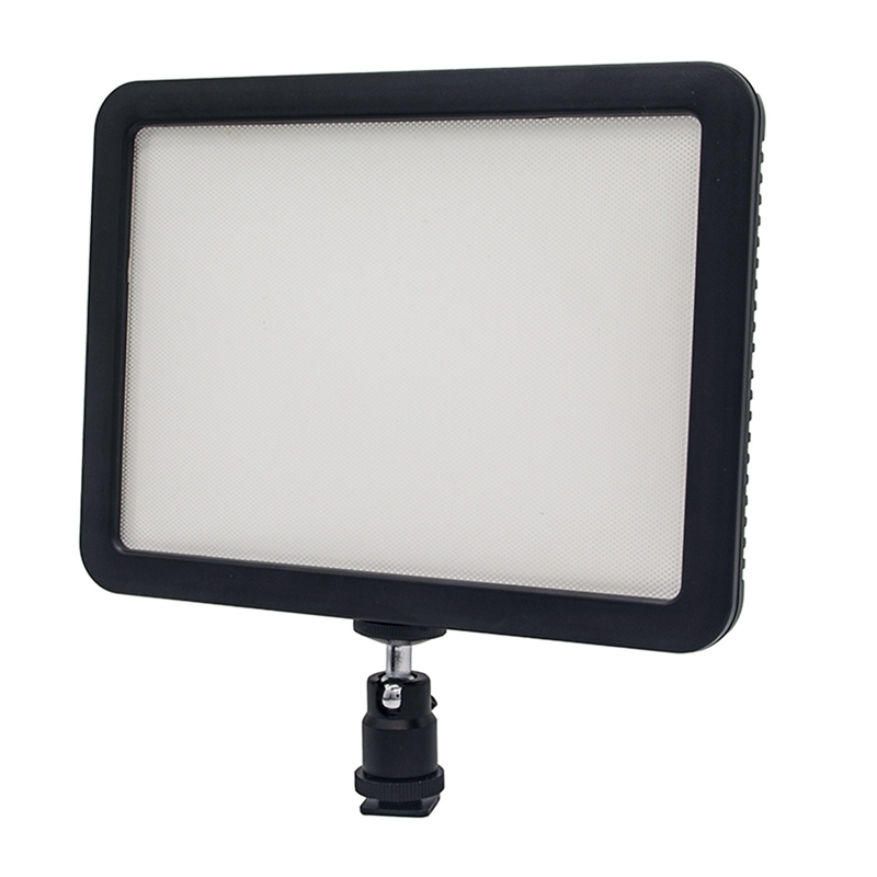Led Video Light Camera Camcorder Photo Light Panel Dimmable 3300K 5600K Color Temperature Cri 95 Ultra Thin Light For Youtub in Photographic Lighting from Consumer Electronics