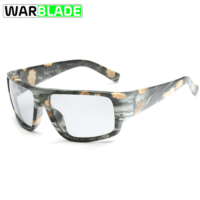 47dcc94702 Cycling Photochromic Polarized Sunglasses Men Camo Chameleon Discoloration  Biking Driving Sun Glasses fietsbril gafas ciclismo