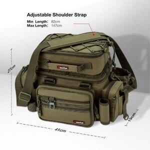 Image 3 - Многофункциональная сумка для рыбалки Piscifun, большая сумка для хранения снастей, Портативная сумка для занятий спортом на открытом воздухе, Походов, Кемпинга, сумка для рыбалки