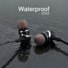 Waterproof Wireless Bluetooth Sport Earbuds with Mic
