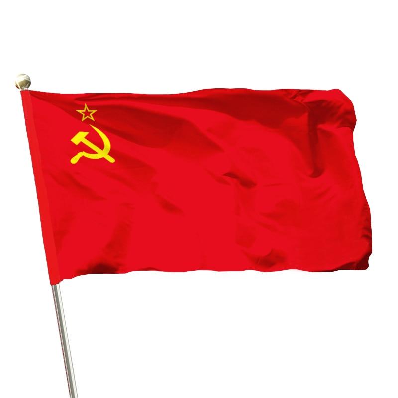 Flag 60*90cm 1PC Home Decorations Union of Soviet Socialist Republics