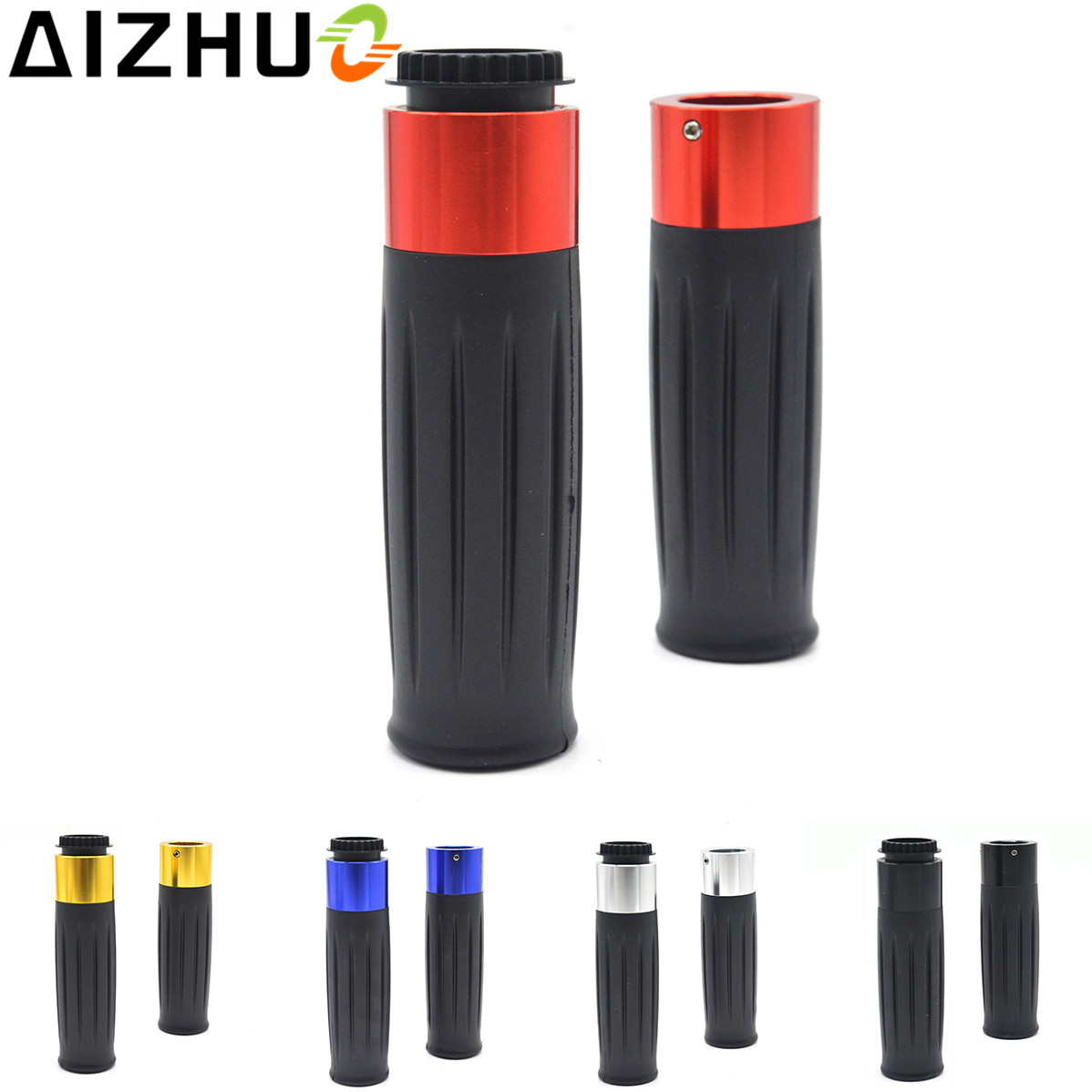 """7/8"""" 22mm Motorcycle Handle Grip CNC Aluminum Handle Bar Grips For KTM Motocross EXC 20 250 300 450 500 SX XC SXF XCW XCF EXCF"""