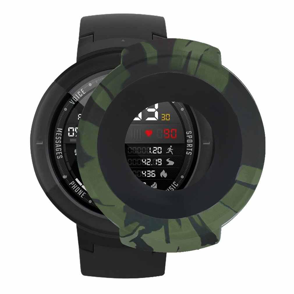 Funda protectora con marco de silicona para Xiaomi Huami Amazfit Verge Watch funda protectora de silicona suave