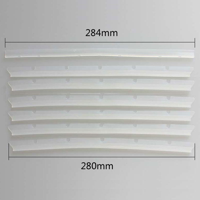 Replacement 6Pcs Compatible Blades And 1Pc Squeegee For Neato Botvac Brush 70e 75 80 85 Series Vacuum Cleaner Spare Parts