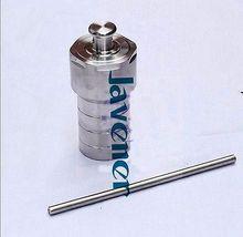 Tanque de Digestión de alta presión de la manga interior del recipiente revestido del Reactor Autoclave de síntesis hidrotérmica forrada de PTFE de 200ml