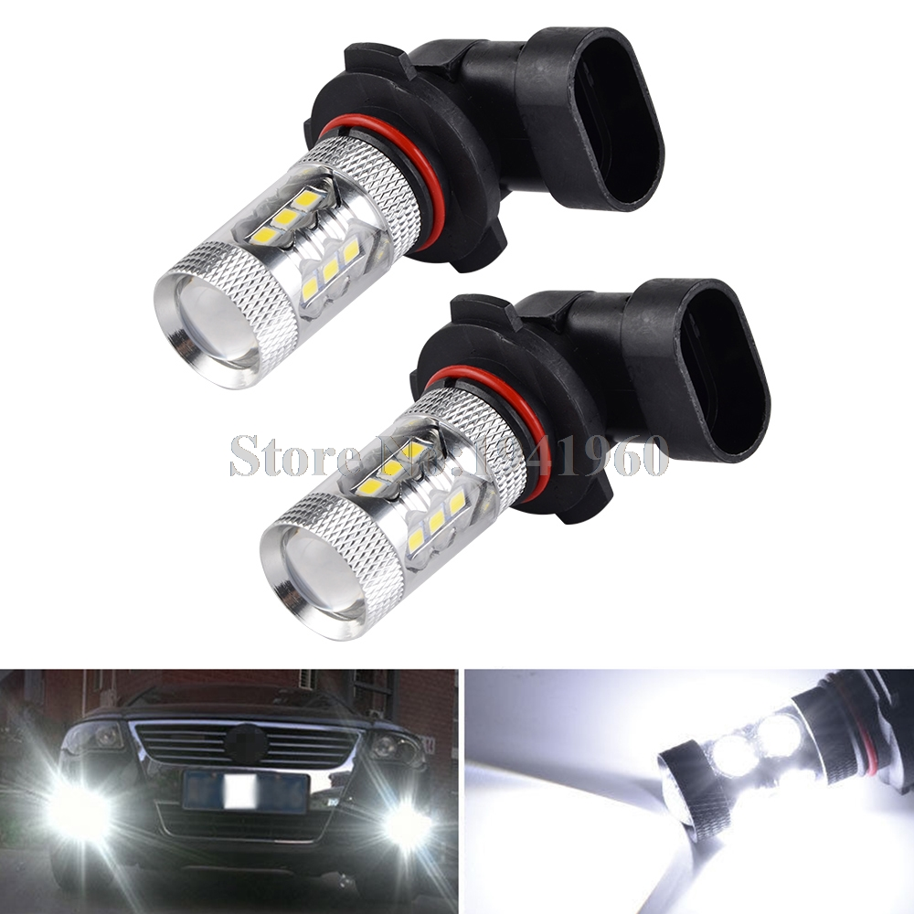 NICECNC H10 Super White LED Headlight Bulb Car DRL Fog Light For Can-Am ATV Can Am Maverick Commander Outlander Spyder Renegade