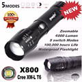 Super 5000LM G700 Tactical LED Flashlight X800 Bright Military Light Lamp