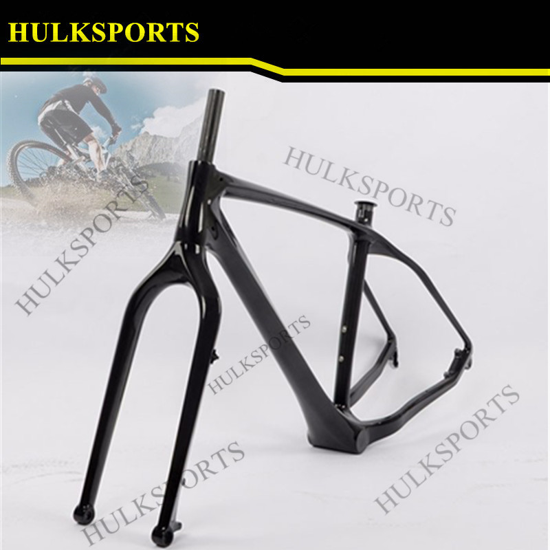New style fat bike frame Toray T700 carbon bike frame UD carbon fat ...