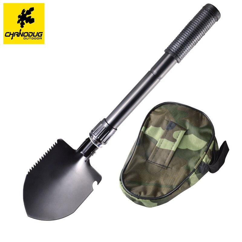 NUEVO Multi-función Militar Portable Que Acampa Plegable Pala Pala Llana Jardín