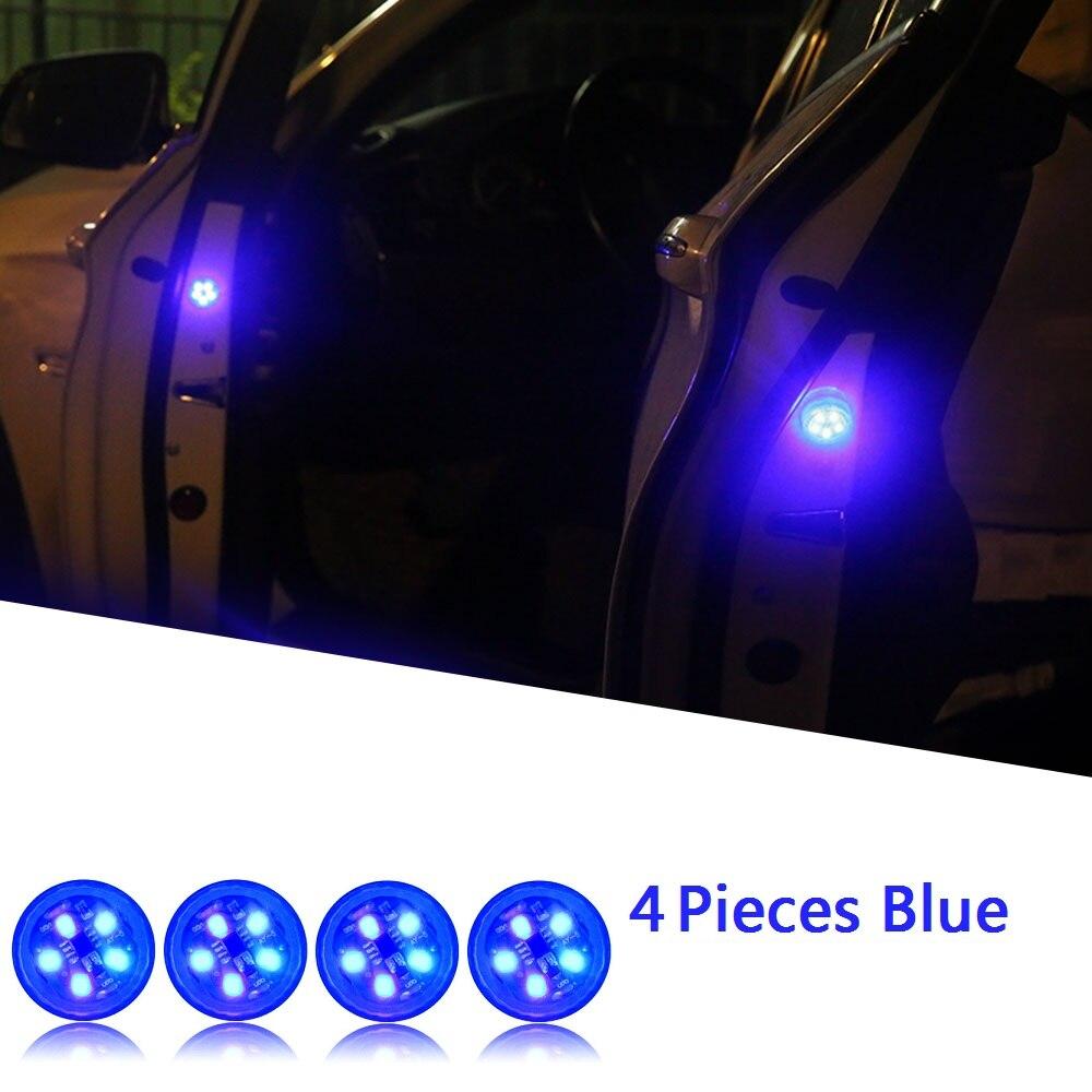 Blue x 4 Lights