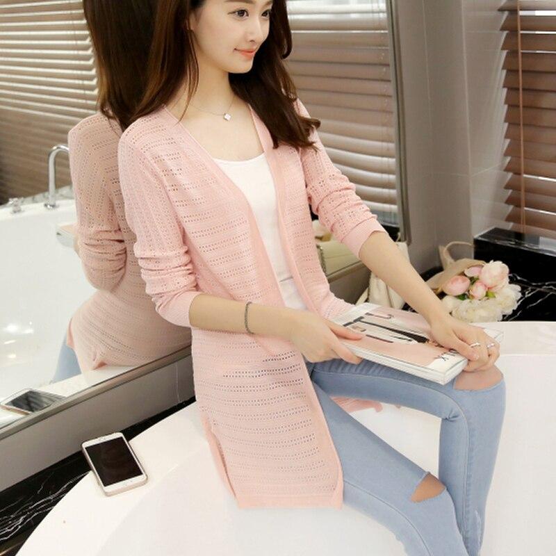 2016 m. Naujoji vasaros suknelė Korėjos plonasluoksnis ilgas - Moteriški drabužiai - Nuotrauka 2