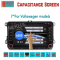 7 polegadas Capacitivo da tela de toque DVD player Do Carro para a Seat/Altea/Leon/Toledo/Altea-XL suporte 3G wifi Rádio Bluetooth Ipod RDS