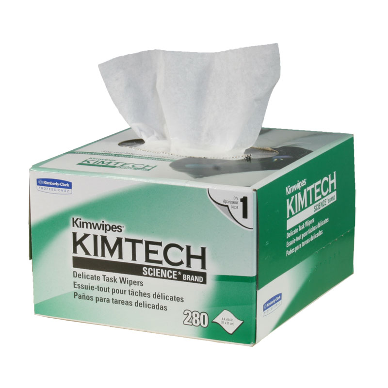 10pcs/lot 210 X 110mm Kimtech Kimwipes Delicate Task Wipes 280 Pieces Per Box For Optical Components Free Shipping