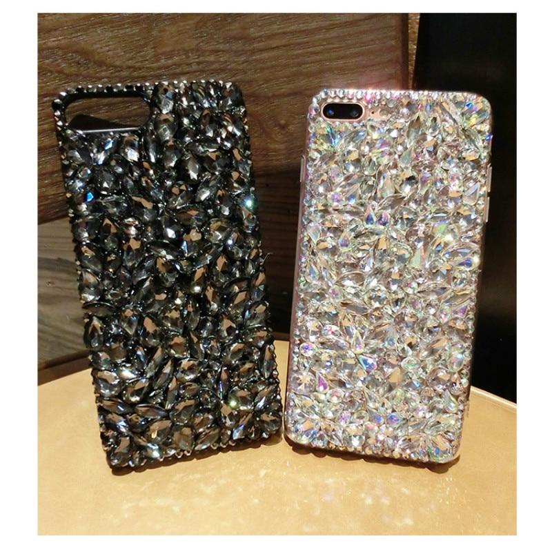 imágenes para Bling de lujo Cristal de Diamante Cubierta Del Caso para Oneplus 3 T 3 2 1 X Colorido dura de la PC Celular Caso de la Cubierta de Funda para Uno más 3 T 3 2 1 X