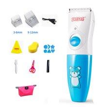 Детская машинка для стрижки волос немой водонепроницаемый триммеры керамическая головка для стрижки волос Машинка для стрижки волос для детей Детский триммер