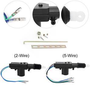 Image 2 - VODOOL Car Central Door Lock Actuator Motor 12V Car Auto Locking System Actuator Single Gun Type Central Door Lock Motor Kit