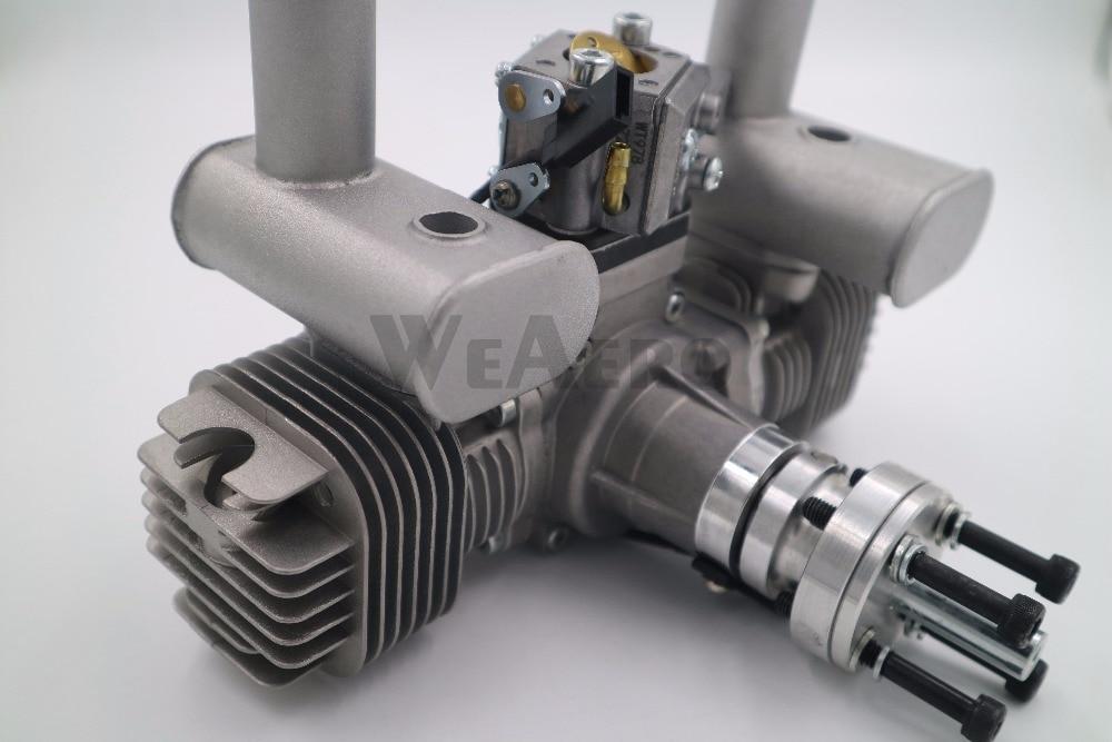 Moteur essence/essence double cylindre RCGF 40cc TS pour avion RC-in Pièces et accessoires from Jeux et loisirs    2