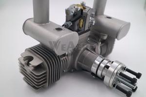 Image 2 - RCGF 40cc TS Dual Cylinder Petrol/Gasoline Engine for RC Airplane