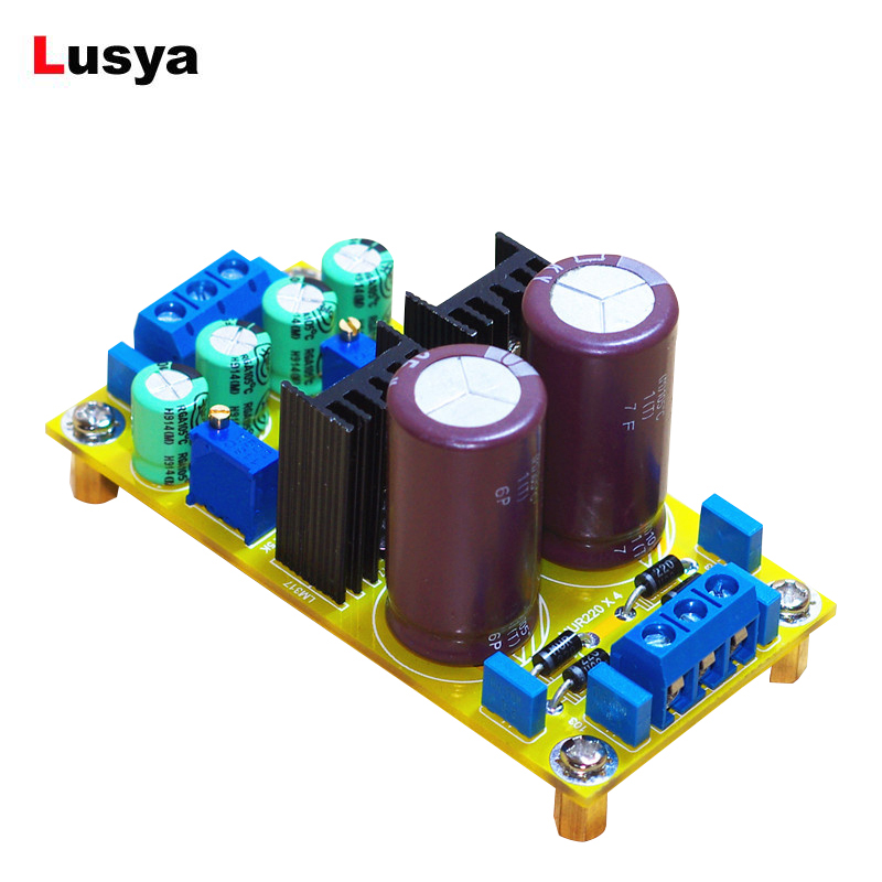 LM317 LM337 DC Adjustable Regulated Power Supply Module Board positive and negative can adjustable DIY Kit