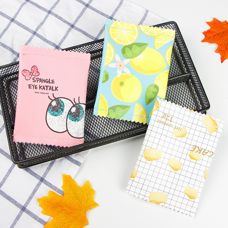 Fashion Women Mini Purse PU Leather Small Wallet Macaron Bow Big Eye Pattern Key Pouch Cartoon Credit Card Holder Coins Hand Bag king divas