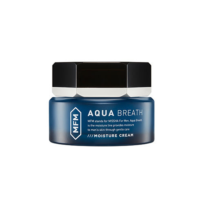 MISSHA Aqua Breath Moisture Cream 60ml For Men Face Cream Skin Care Deep Moisturizing Oil-control Original Korea Cosmetics крем aqua mineral maxi smooth men s face cream
