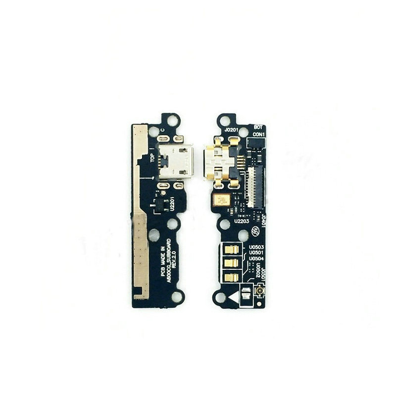 New USB Charge Charging Mic Microphone Board Flex Cable For <font><b>Asus</b></font> Zenfone 6 ZF6 <font><b>T00G</b></font> A600CG Mobile Phone image