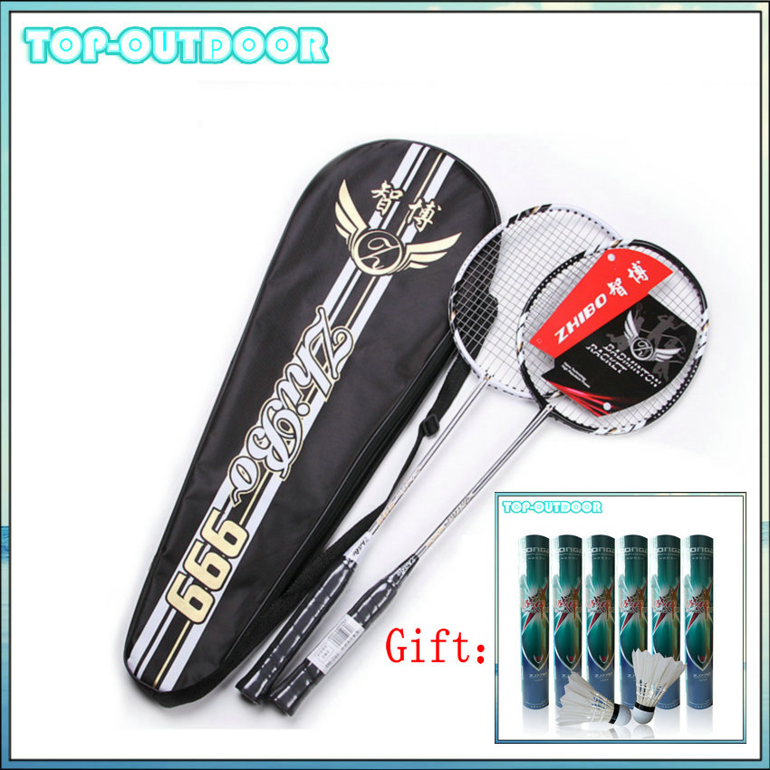 1 Pair Carbon Fiber Badminton Racket font b Racquet b font with Carry Bag Raquete 12pcs