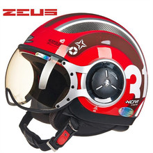ZEUS motorcycle helmet half helmet cross country riding
