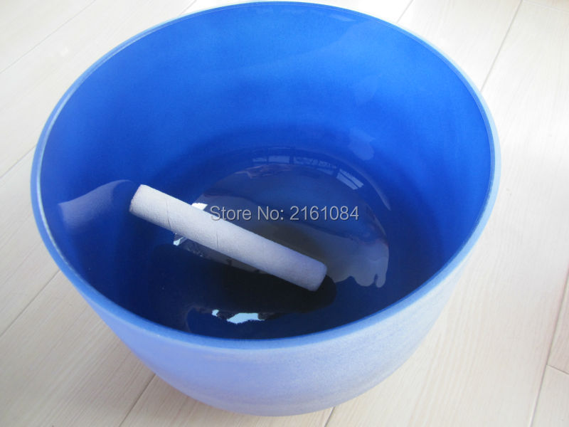 12 Indigo Color A Third Eye Chakra Frosted Quartz Crystal Singing Bowl with free suede and o ring 8 indigo color a third eye chakra frosted quartz crystal singing bowl with free suede and o ring