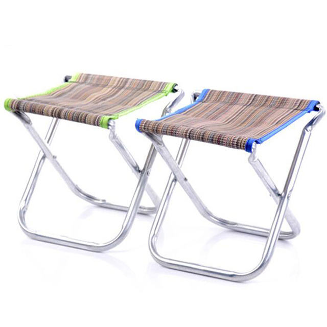 Household Supplies Leisure Portable Folding Oxford Cloth Stool Chair Personalized Travel Small Seating Net Cloth NXH1927