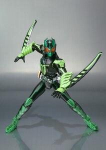 "Image 5 - 100% figurine originale BANDAI Tamashii Nations S.H.Figuarts (SHF) GATAKIRIBA Combo de ""Kamen Rider OOO"""
