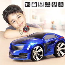 Купить с кэшбэком New 1:28 Remote Control Car Racing Toy Car Voice Smart Watch Voice-Activated Watch Rechargeable Radio Drift Car Electric
