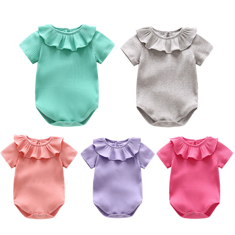 Baby Clothes Sale | Summer Baby Rompers Cotton Baby Girl Clothes Sale Newborn Baby Clothes Short Sleeve Roupas Bebe Kids Clothing Infant Jumpsuits