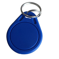 (حزمة من 50) iso14443a rfid mf تتفاعل مفتاح فوب الأزرق اللون الكلاسيكي 1 كيلو الحلي 13.56 ميجا هرتز ic مفتاح الكلمات رمز الدخول السيطرة الانظمه