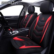 KADULEE flax car seat cover for opel vectra c astra j h g k meriva insignia zafira a mokka corsa c Automobiles Seat Covers