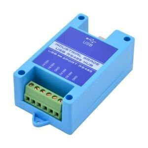 Image 1 - Usb to 485 변환기 산업용 등급 2 rs485 to usb 모듈 번개 보호 호환 win7/8/10