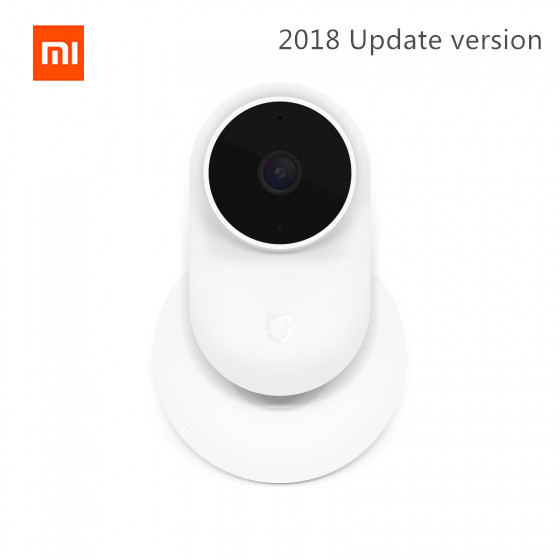 2018 versão de atualização, original Xiaomi mijia Ai Inteligente qualidade Infravermelho visão noturna IP Cam 1080 p full HD 130 graus de ângulo largo super