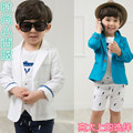 2016 New Spring Children's Suit, Boys Blazer, England Style Fashion Trench, Spring Jacket